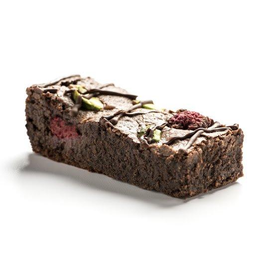 Pistachio And Raspberry Fabulous Brownies